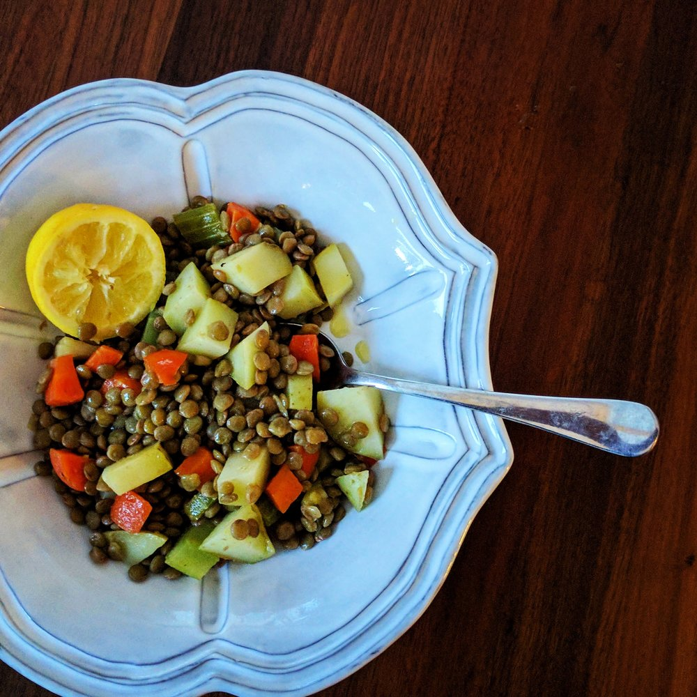 Lentils & Veggies