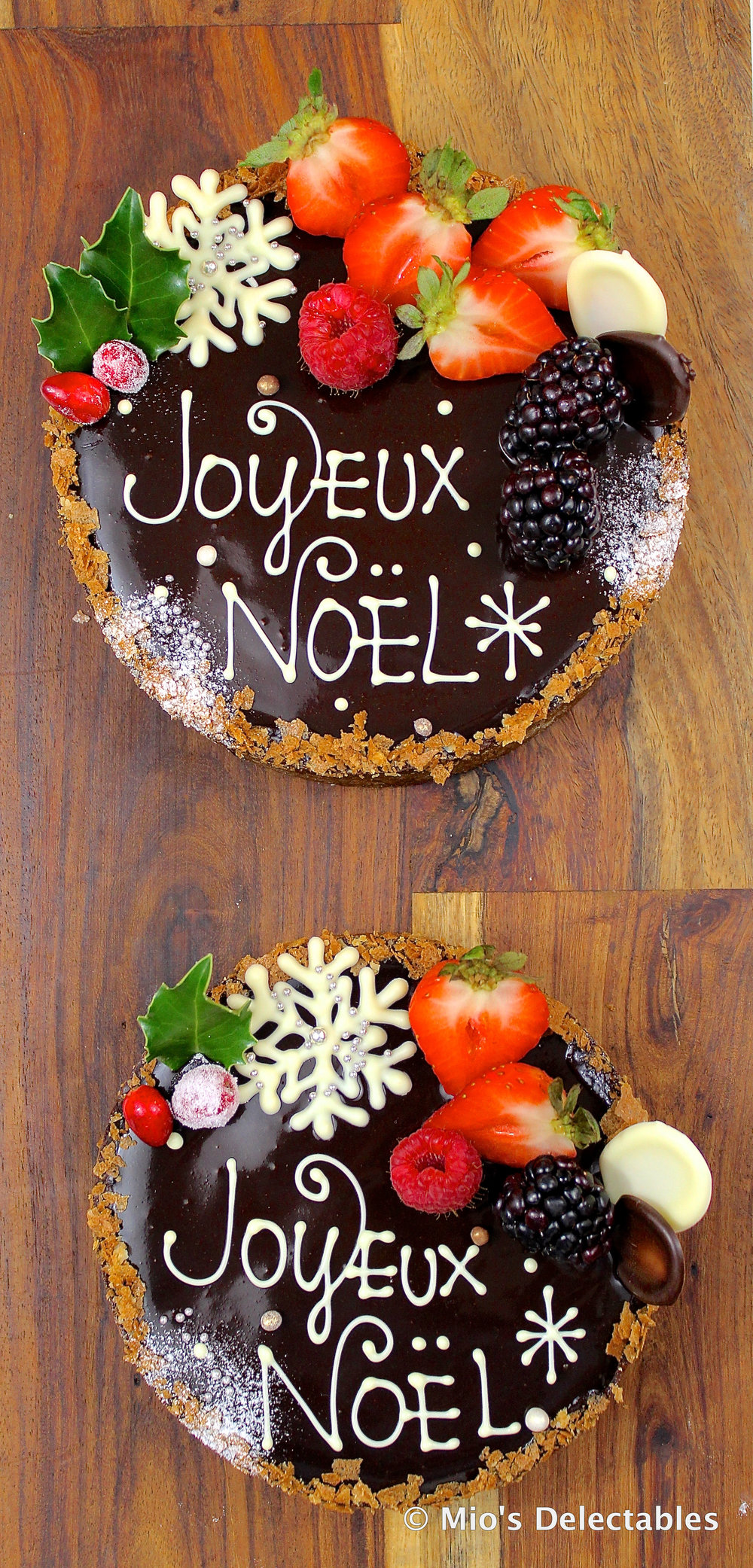 "*Tarte Fine au Chocolat w/ Shiba Wichern Cellars Red Wine & Cranberry Confiture 5.5"" $28 6.5"" $35  https://www.miosdelectables.com/christmas-cake-preorder/ktofzon8omct6vbpvey80x5blp4fgq"