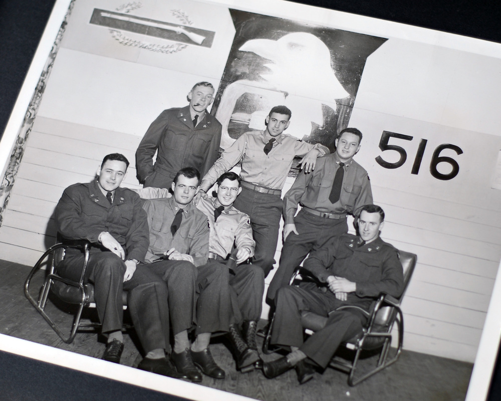 (My father, William Ault, seated third from the left)