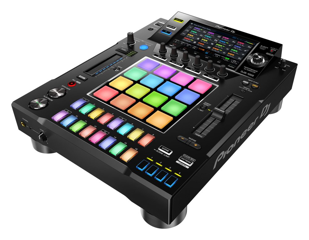 The all new PioneerDJ DJS-1000 Standalone DJ Sampler?