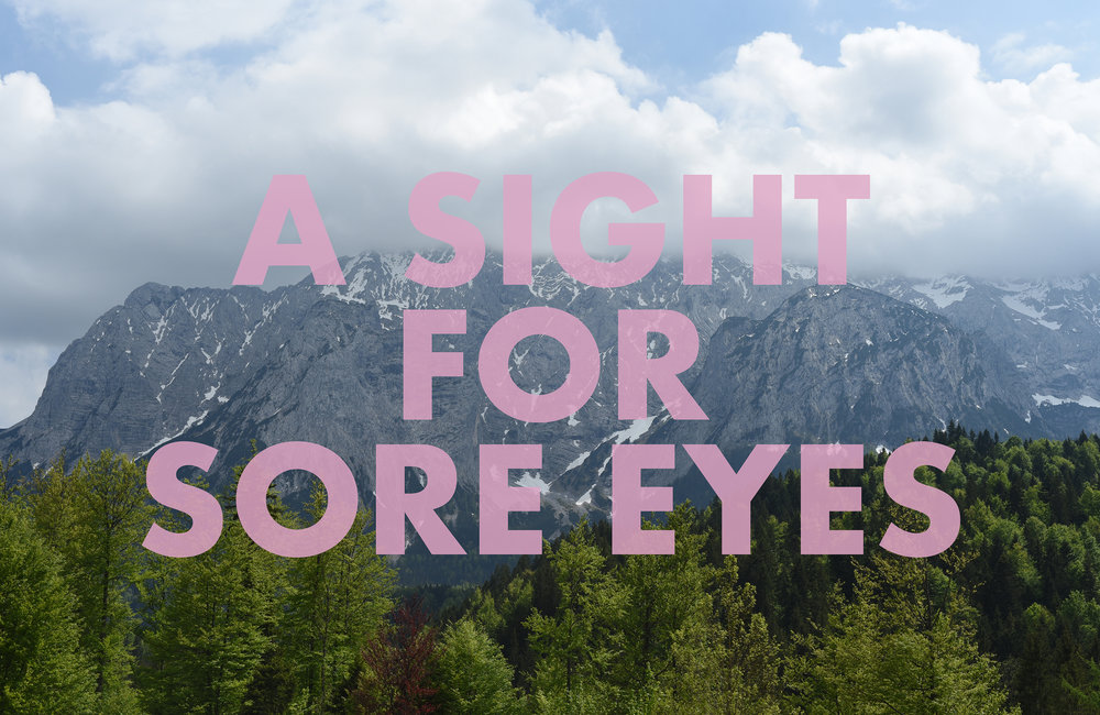 ASIGHTFOSOREEYES,  2018  Krün, Bavaria, Germany