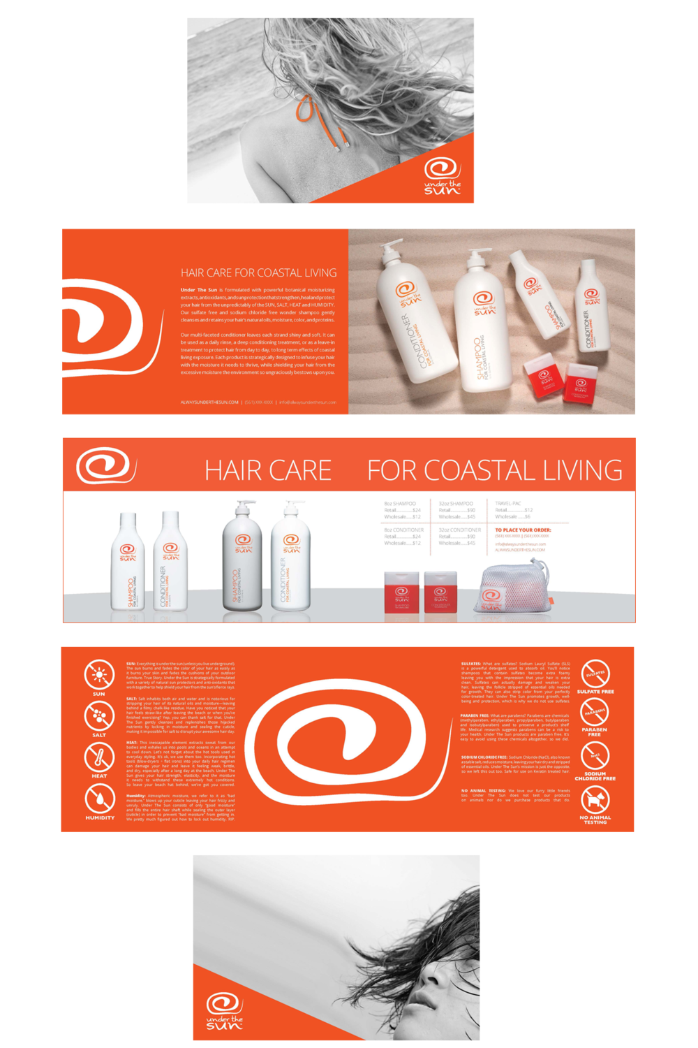 Image result for orange print collateral