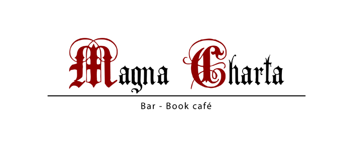 Logo for a book café - concept