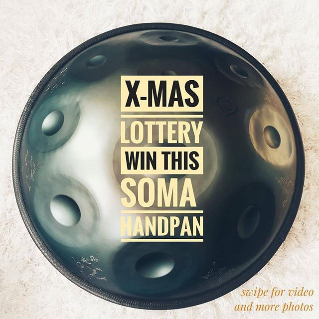 @somasoundsculptures is giving away a handpan. Best of all, it has a flaw that has been repaired. If you pay any attention to my feed,  you'll know that I have an affinity for flawed drums. There's so much beauty to be discovered in embracing imperfection. I'm making a Christmas wish, this drum would be at home in the @yourhandsonfire shop!