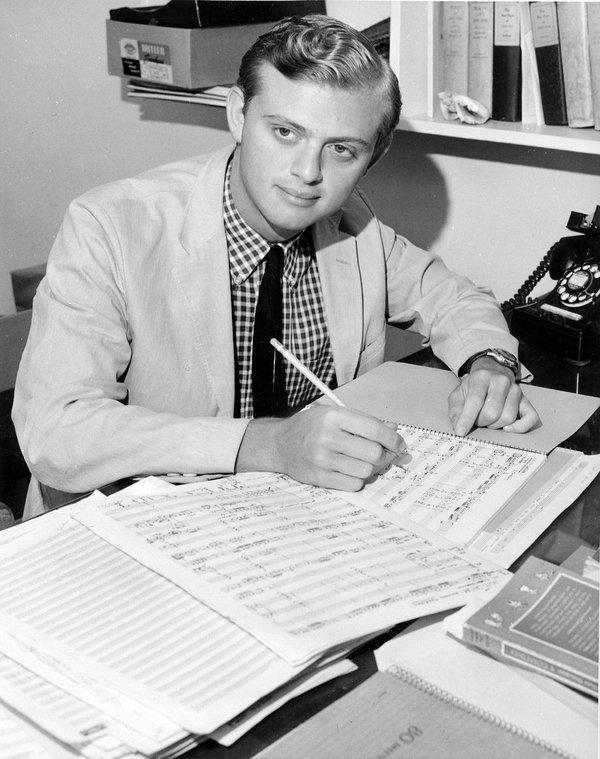 An early photo of Dr. Conrad Susa, Credit: San Francisco Conservatory of Music
