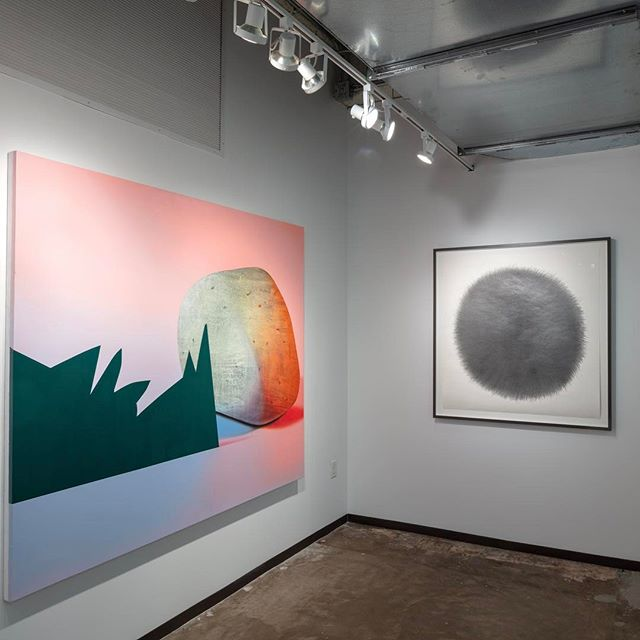 Thank you to everyone who visited us this year at the Dallas Art Fair! The collecting community is growing and thriving here in Dallas and we are proud to be a part of it. Until next year!! Pictured here: works by Anna Membrino and Nic Nicosia. @dallasartfair @anna_membrino @nicnicosia #dallasartfair2018