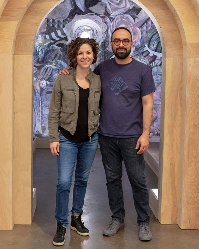 "We are proud to have ""The Chapel"" by Francisco Moreno in the gallery through May 19th. Mark your calendars for Thursday May 10th when we will celebrate the Catalog Release and Artist Talk. Visit the gallery Wed-Sat 12-5. Photo by: #KevinTodora 💥 #FranciscoMoreno #thechapel @morencisco"