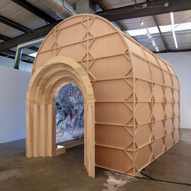 "Visit Francisco Moreno's ""Chapel"" Wed-Sat 12-5pm through May 19. @morencisco #chapel"