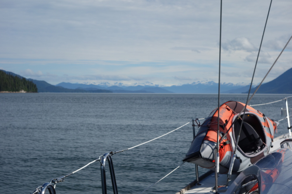 Looking North towards Wrangell and Petersburg...