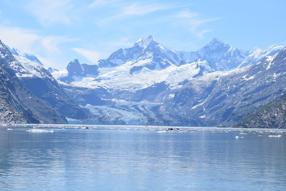 John Hopkins Glacier was Stunning...