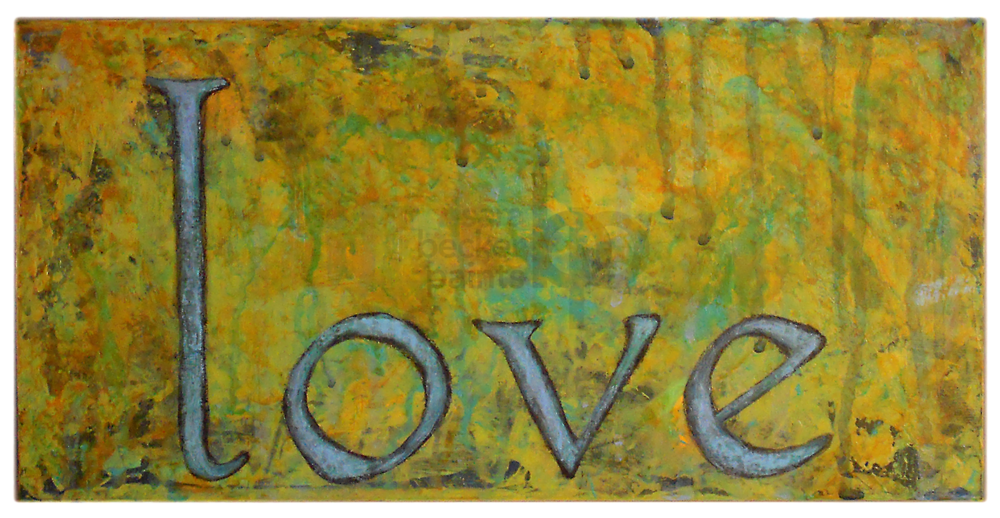 love green 6x12 acrylic on wood [50]