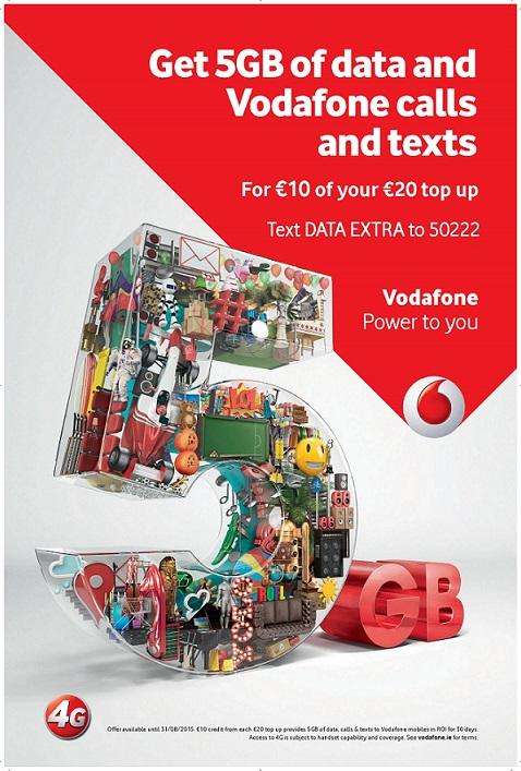 Vodafone Data Extra