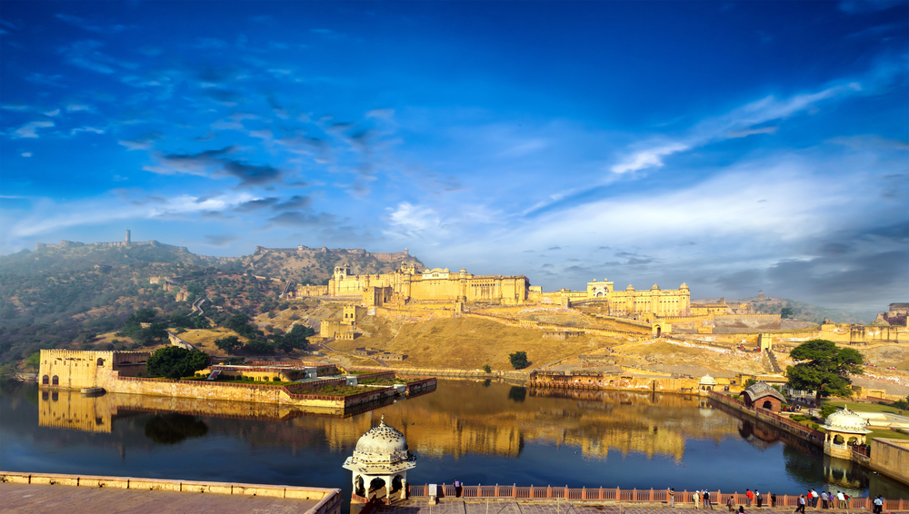 Jaipur Amber fort in Raj