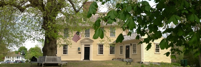 Buckman Tavern, Lexington, MA - Image From Freedom's Way Web Site