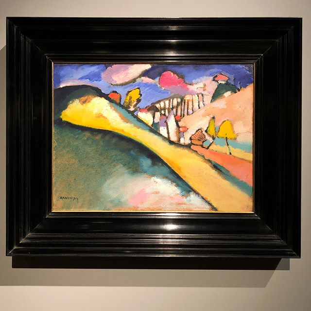 Extraordinary works, extraordinary price tags 🏷. Seeing them before they disappear in private collections - priceless. 💰#Kandinsky #degas #picasso #dali #giacometti