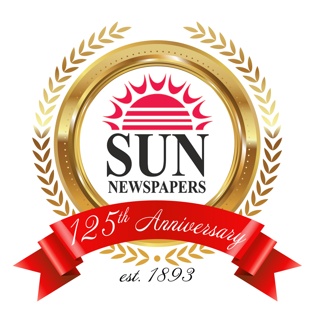 Winner of Sun Coast Newspaper's  contest to create a logo to use for their 125th Anniversary. 2018
