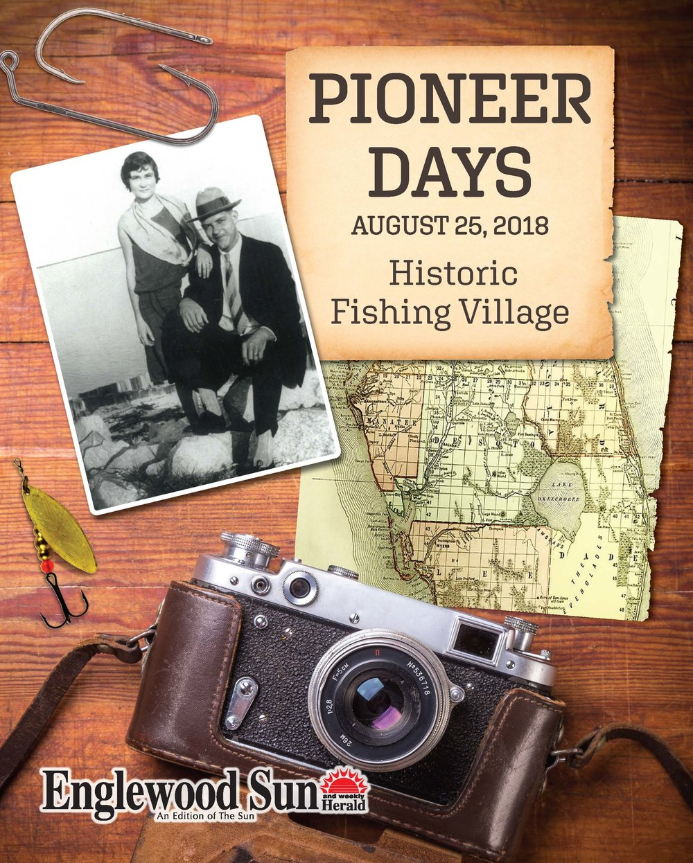 Englewood Pioneer Days Cover, 2018