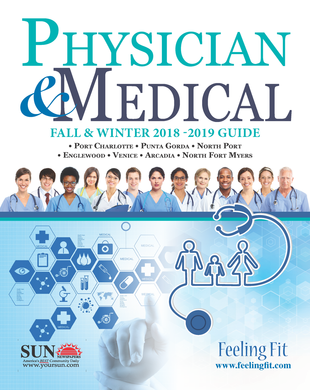SCMG Physician & Medical Guide Cover, 2018