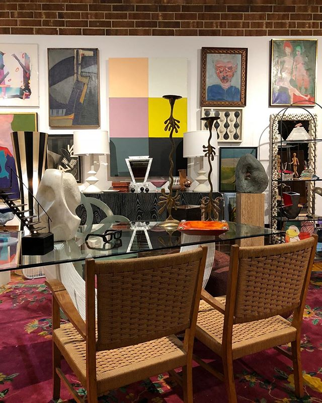 Only one more sleep! Tomorrow at 9 am is opening day at @214modern. Don't forget we moved to 314 west Russell and have an amazing new building and three incredible new dealers. You will not believe the amount of killer vintage and modern we fit under one roof. 🤩🤩 #modern #modernart #modernism  #abstractart #abstract #vintage #modernpainting #vintagedealer #artdealer #artcollector #originalart #interiordesign #interiordesigner #postmodern #pomo #midcenturymodern #214modernvintage #hpmkt #americasmart #moderndesign #interiordecor #forsale #interiordecor #interiordecorating #interiorstyling #interiors ◦