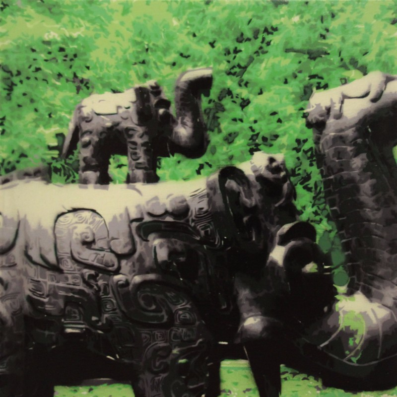 Elephants in the Park