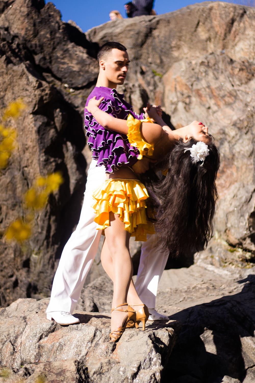 Jessica Janette Silva & Hunter Houde Salsa Dancers NYC