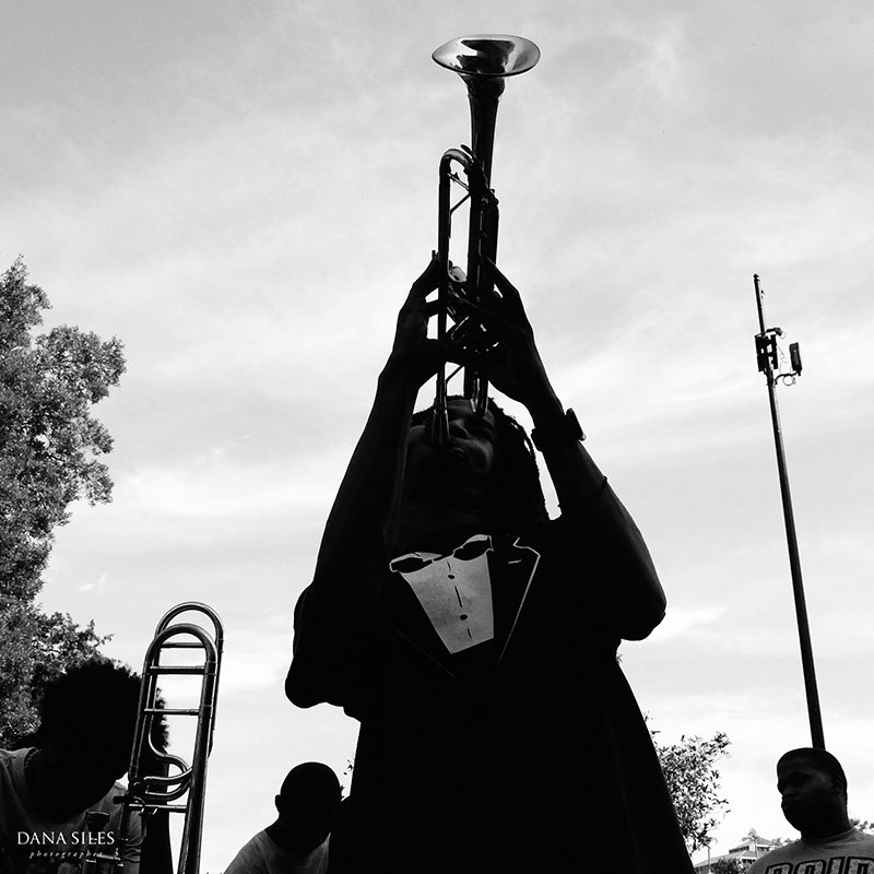 Street performer, New Orleans