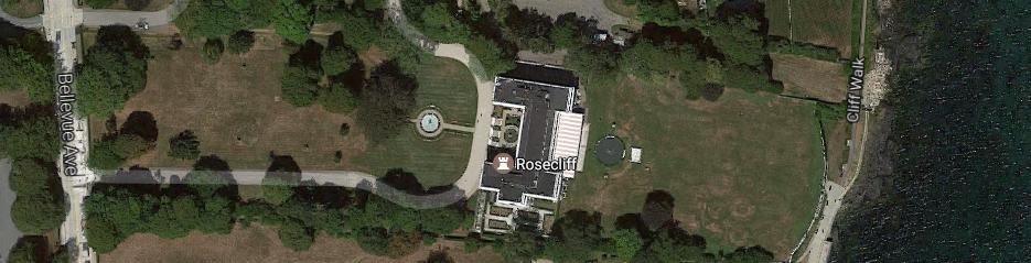 Google Maps:Rosecliff, Newport, RI