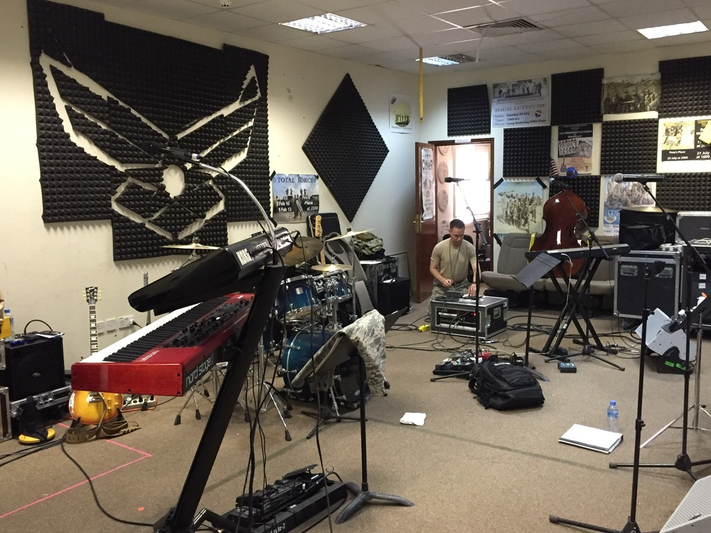 Our rehearsal space!