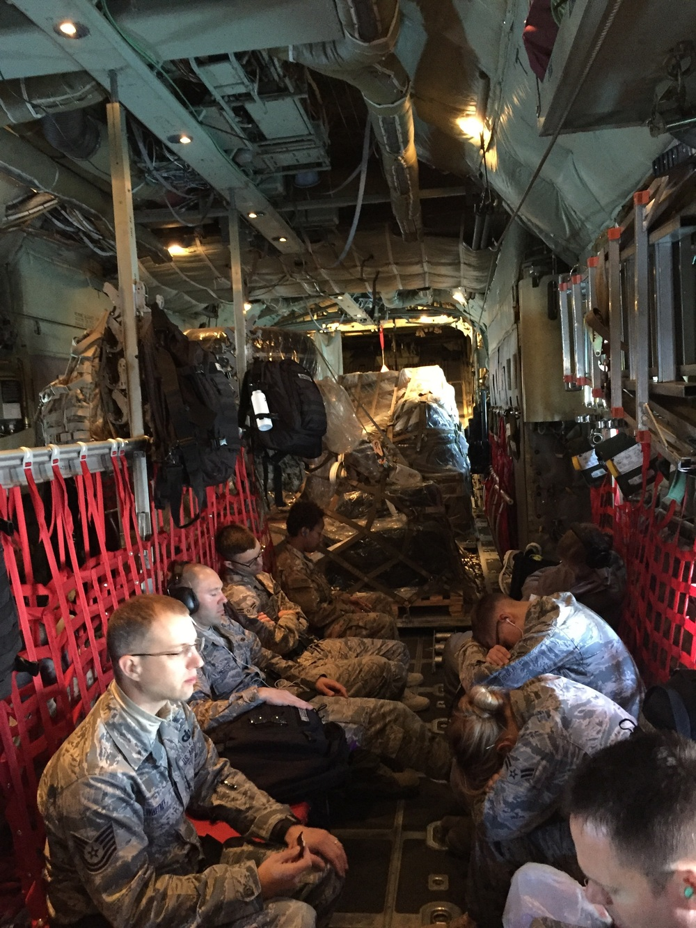 The cozy C130 was very loud...ear plugs are a must!