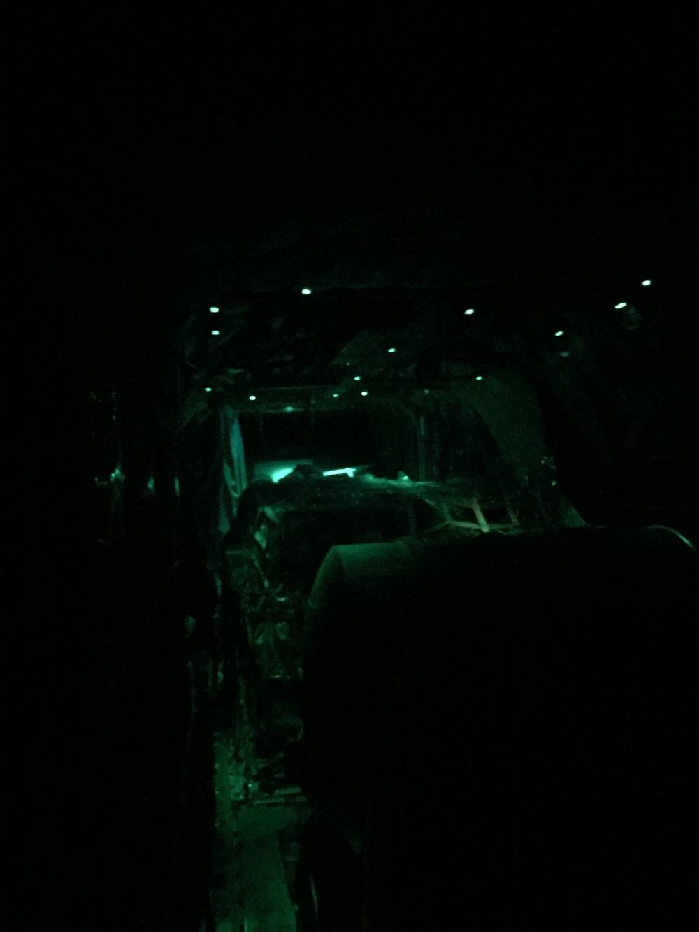 Landing in the dark, FUN.