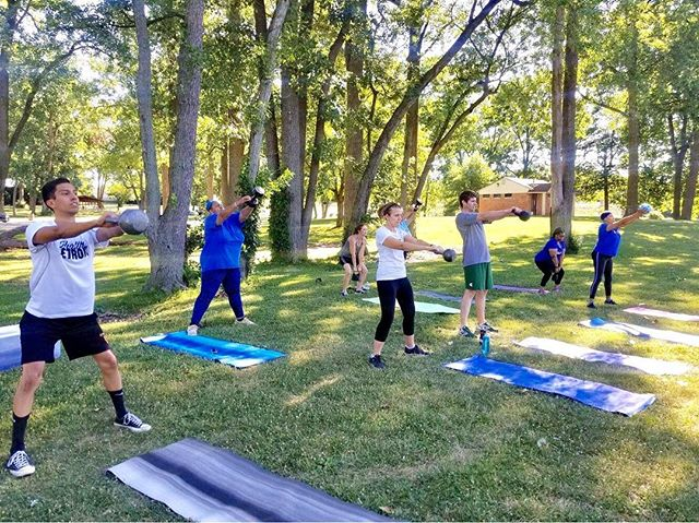 Bootcamp class for tomorrow's #healthydetroit days with @builtby_b will be at 10am instead of 9am. Hope to see you there for #fitnessfunsaturdays in partnership with @waynecountyparks & Friends of Wayne County Parks!