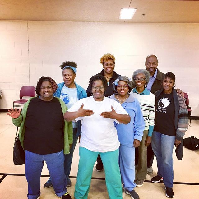 We had a great tai chi class today! Thank you to our local partner @ymca for providing health & wellness classes and believing in our shared vision of a #healthydetroit. Join us every Wednesday at 1pm for class at Samaritan Center #healthpark. Schedules of classes can be found on our event calendar at www.healthydetroit.org