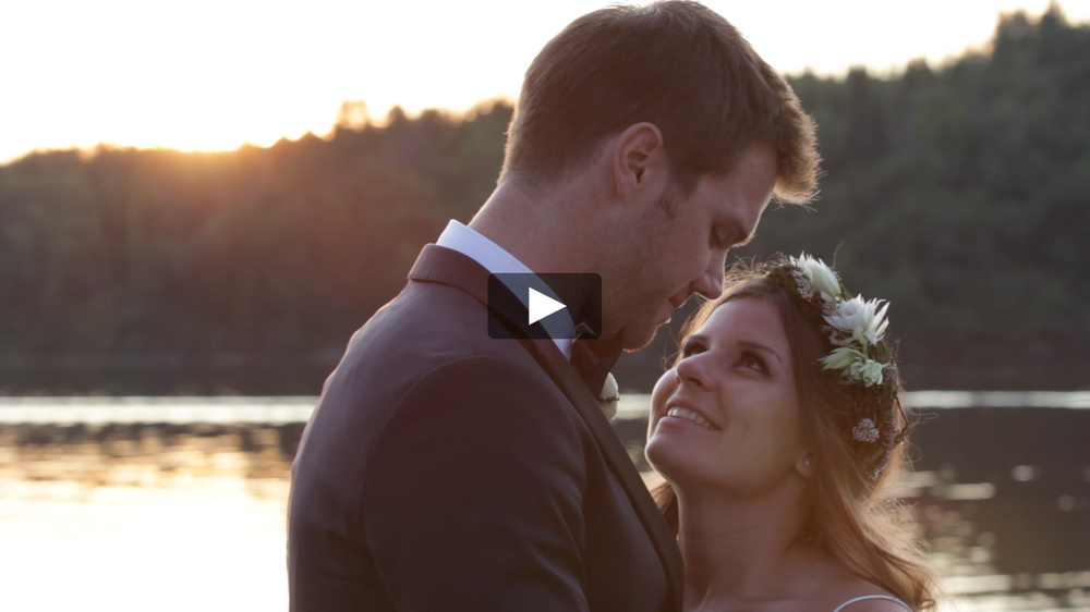 Lake of the Woods Wedding Video