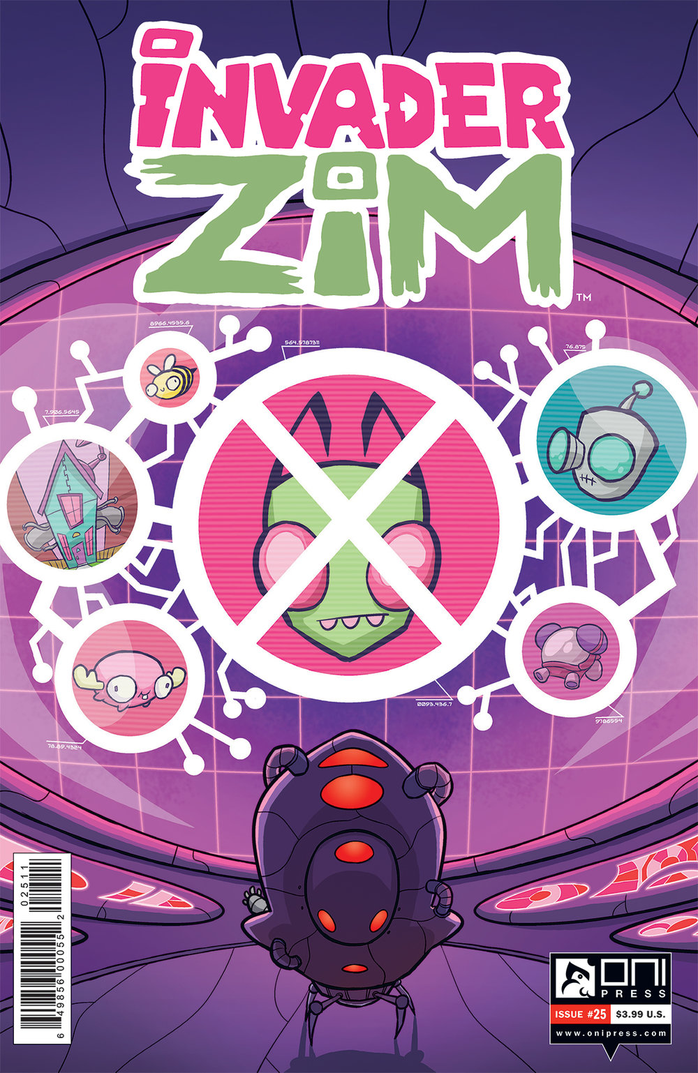 "ALRIGHT CREEPS! ZIM 25 comes out today and it is my last issue as ""series artist!""     I'm not leaving the series entirely, SO DON'T WORRY. I'll still be doing letters and maybe some colors here and there, oh and I'll draw a cover every now and then (ZIM won't let me go THAT easily) but my time on regular art chores has come to an end.     After 12 issues it's time someone else did the heavy lifting (those poor, poor souls) and I'm off to work on some personal projects. (You know, the kind of projects with swords and snow and yelling and axes. Personal stuff.)     Thank you all for your support! (And money. Yay, rent money!)     You're all aces,     -ww"