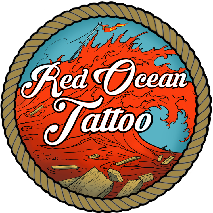 Red Ocean Tattoo
