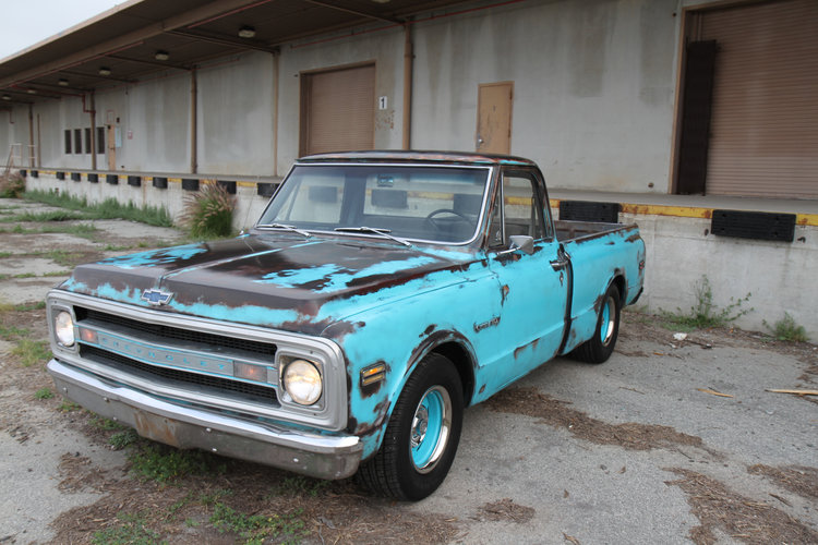 1970 chevy stepside short bed