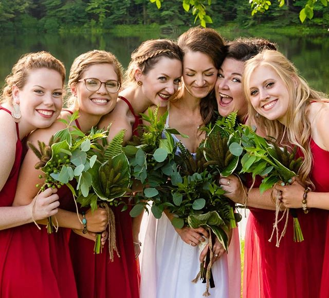 Bridesmaids = Best Friends.