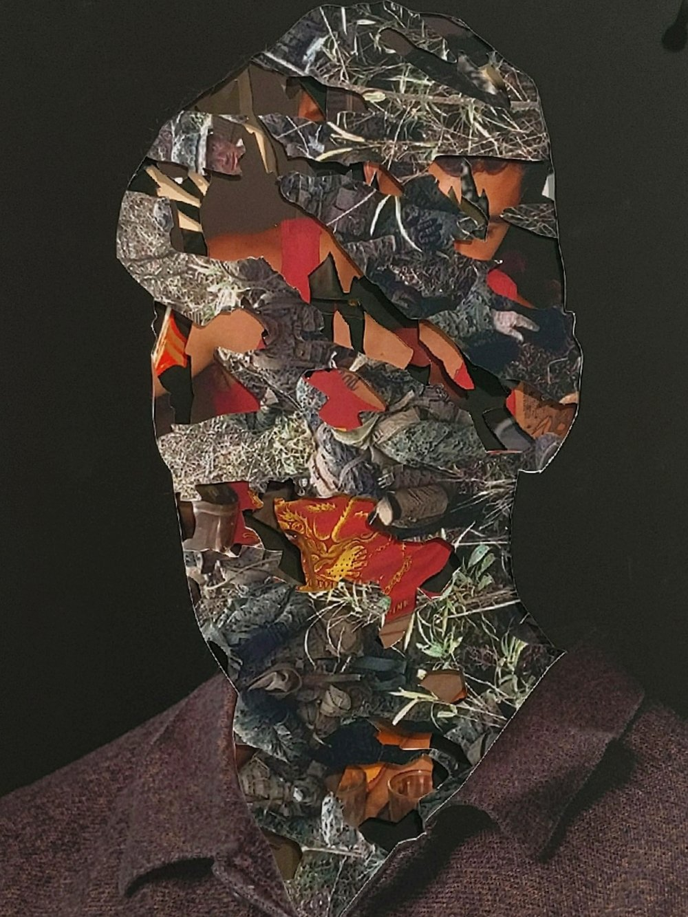 Brenan , Mike Guinto, Inkjet Print Collage, 8x10""