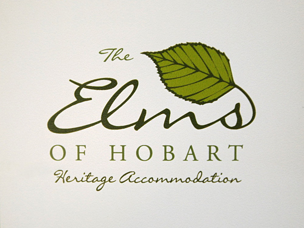 THE ELMS OF HOBART - Brand design (and brochures).