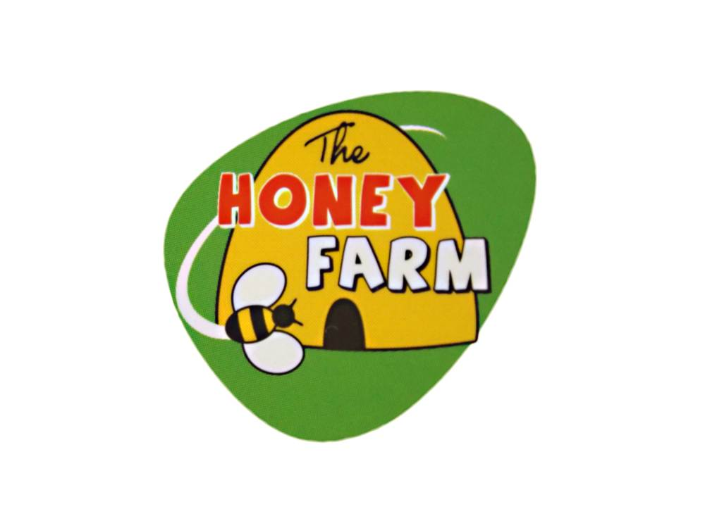 THE HONEY FARM: Logo design