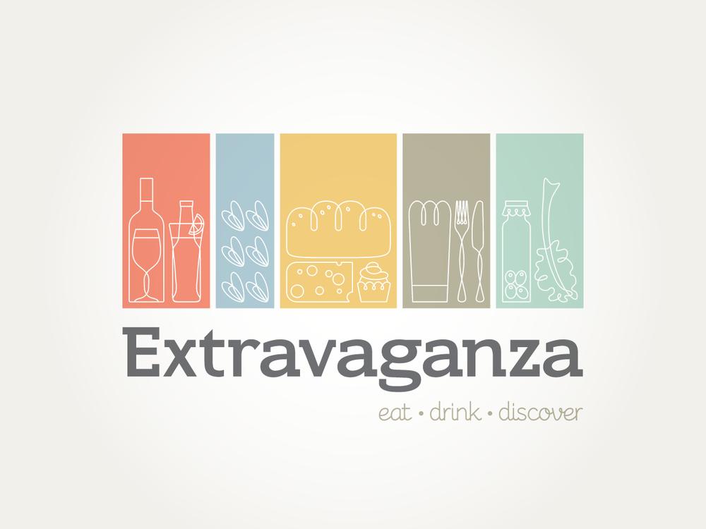 EXTRAVAGANZA - Fresh logo design