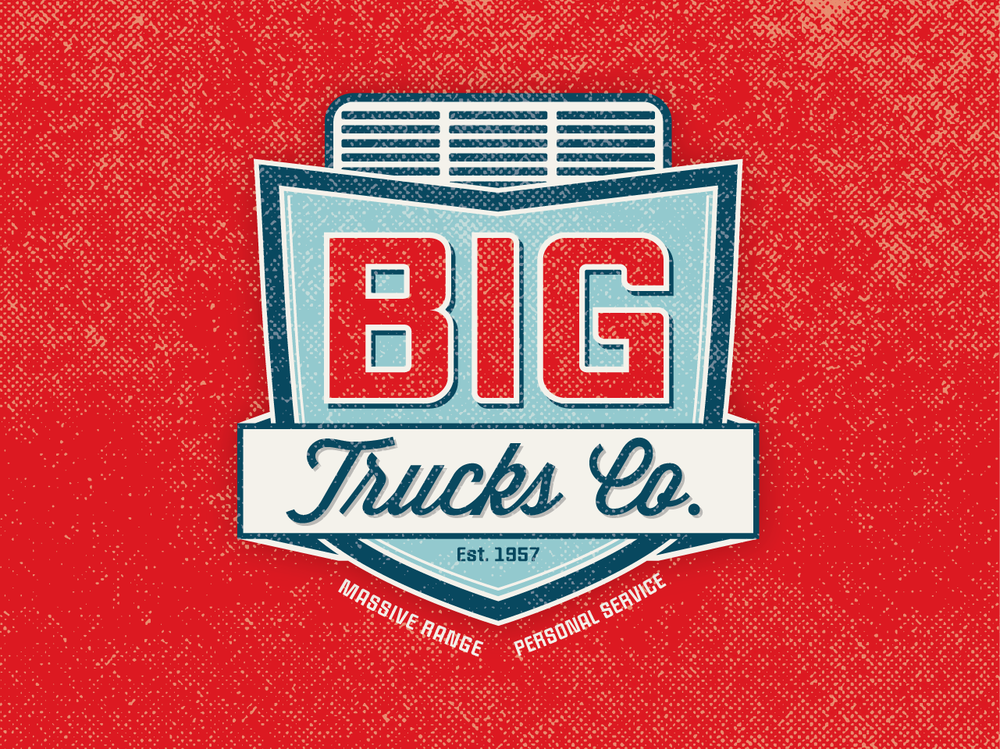 BIG TRUCKS CO. - Logo Concept