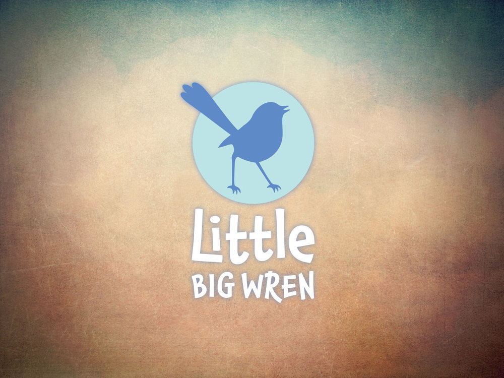 LITTLE BIG WREN - Children's Book Publisher Logo design