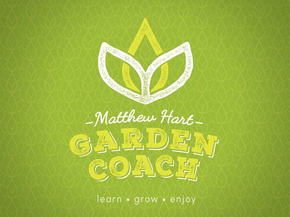 MATTHEW HART GARDEN COACH - Brand Identity Design. Geelong, Surf Coast, Melbourne, Vic, Graphic Design