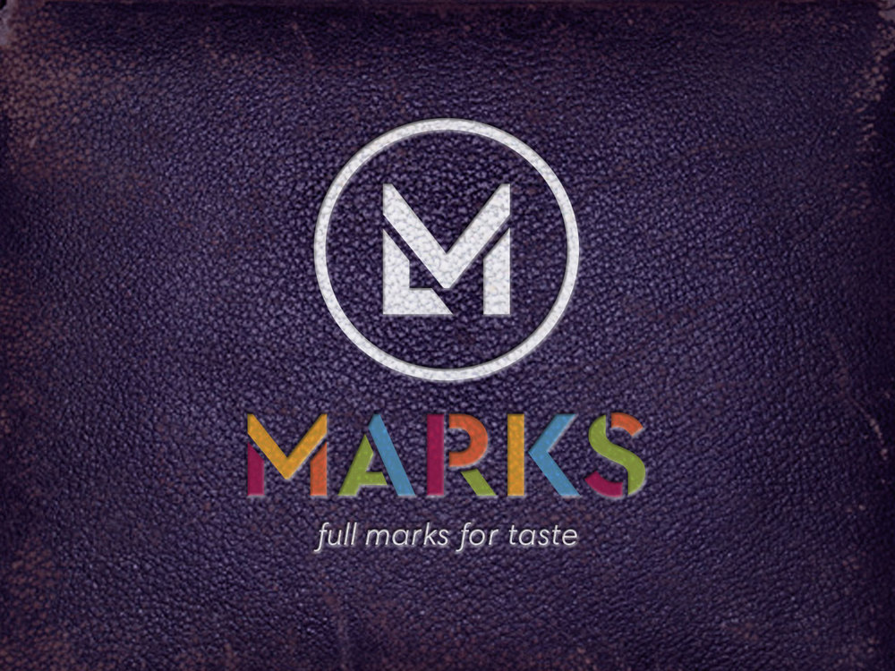 MARKS RESTAURANT LORNE - Rebrand. Logo Design, Signage and Menu Design. Morrison Design Geelong.
