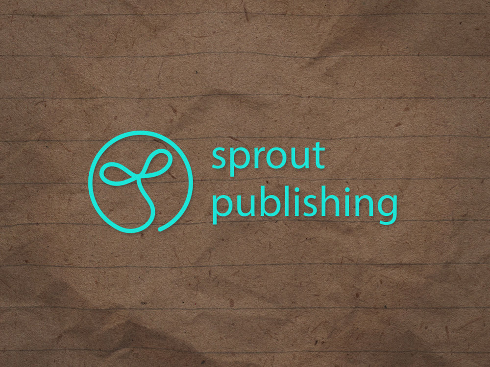 SPROUT PUBLISHING - Logo Design for Geelong Author James Crook