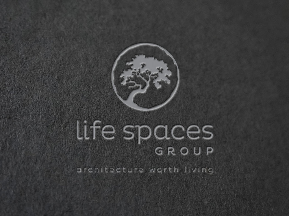 LIFE SPACES GROUP - Branding Project. Logo design for limited edition Barwon Heads Building & Architecture Firm