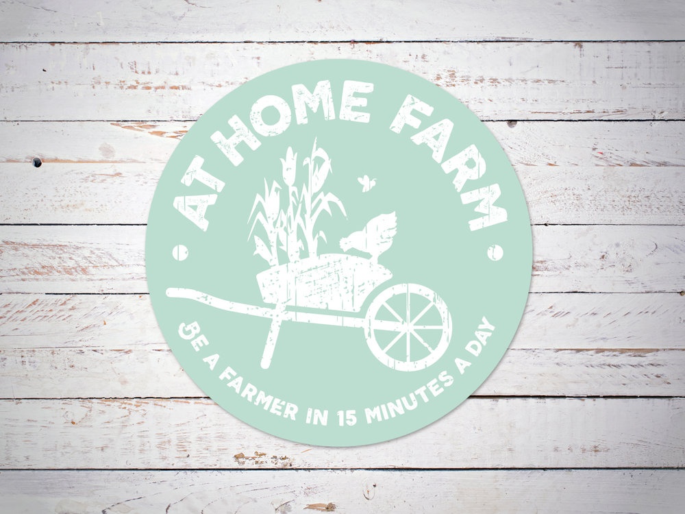 AT HOME FARM - Brand Identity design