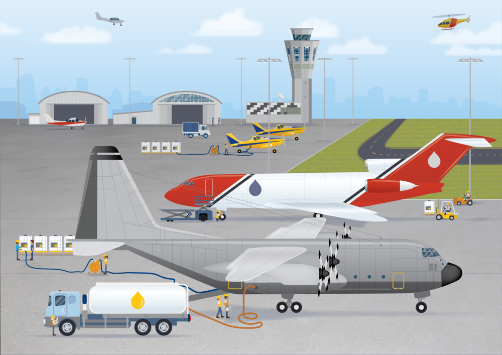 AMCS - Airport Illustration