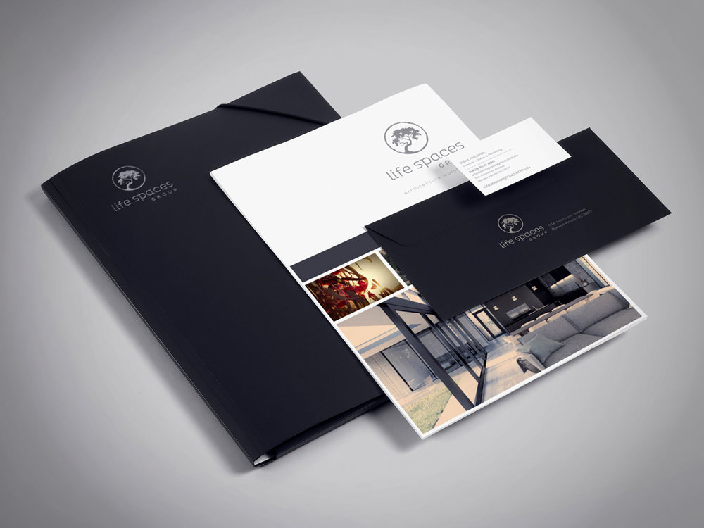 LIFE SPACES GROUP - Brand Identity Design